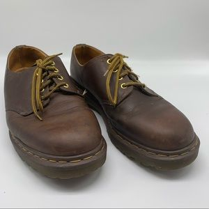 Dr. Martens Leather Oxford Lace Up Rubber Sole 11M